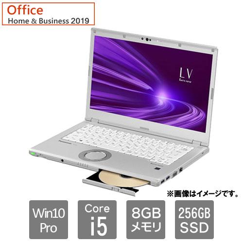 パナソニック ★限定特価★CF-LV9HDSQR [Let's note LV9 (i5 8GB SSD256 SM 14 10P H&B)]