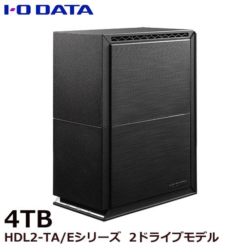 HDL2-TA4/E [ネットワーク接続ハードディスク(NAS) 2ドライブモデル 4TB]