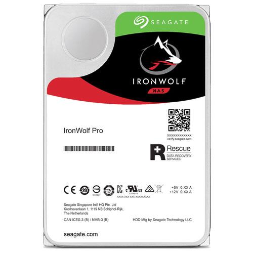 シーゲート ST10000NE0008 [NAS向けHDD IronWolf Pro(10TB 3.5インチ SATA 6G 7200rpm 256MB)]