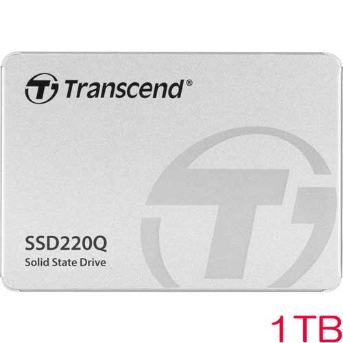 トランセンド TS1TSSD220Q [1TB SSD220Qシリーズ 2.5インチ SATA3 QLC NAND 3年保証]