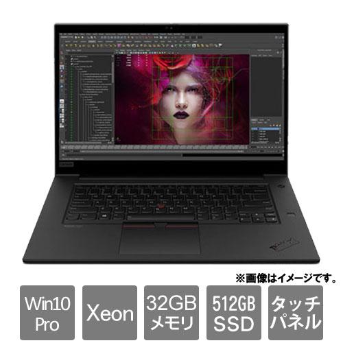 レノボ・ジャパン Mobile Workstation P 20TJ001HJP [ThinkPad P1 (Xeon W-10855M 32GB SSD512GB Win10Pro for WS 15.6)]