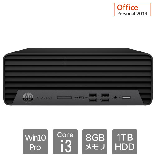 HP 235W1PA#ABJ [600G6SFF i3-10100/8/1Tw/P/O19/VGA]