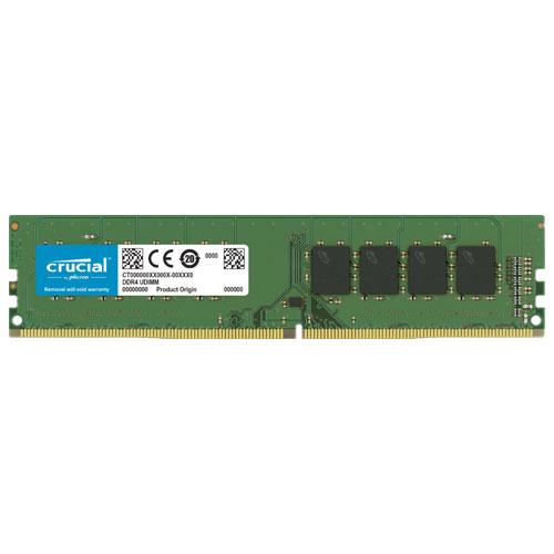 クルーシャル CT16G4DFS8266 [16GB DDR4 2666 MT/s (PC4-21300) CL19 SR x8 Unbuffered DIMM 288pin]