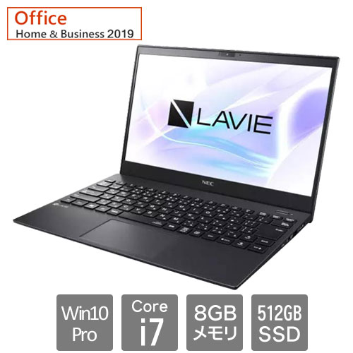 NEC PC-GN186J5NYABHD7YHA [LAVIE Direct PM (Core i7 8GB SSD512GB 13.3 Win10P H&B2019)]