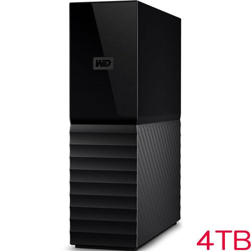 ウエスタンデジタル WDBBGB0040HBK-JESE [My Book (2020) USB 3.0 4TB ブラック]