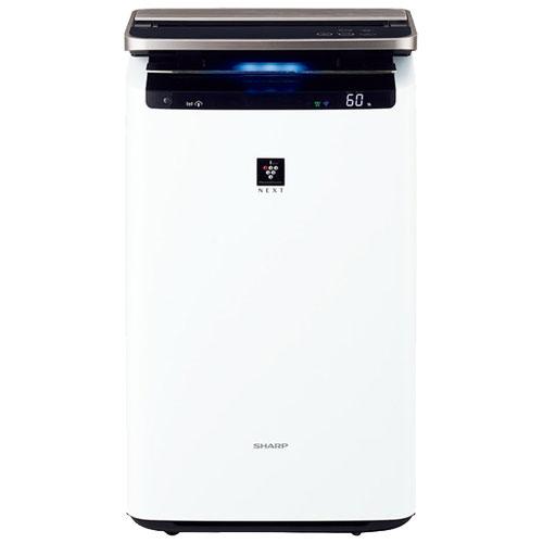 シャープ KI-NP100-W [プラズマクラスター加湿空気清浄機 ホワイト系]