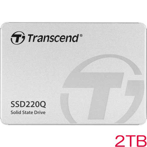 TS2TSSD220Q [2TB SSD220Qシリーズ 2.5インチ SATA3 QLC NAND 3年保証]