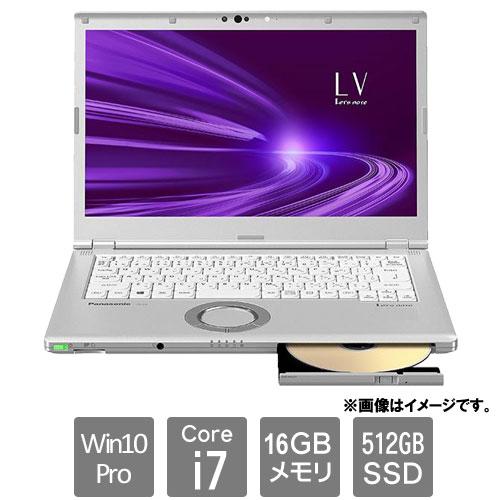 パナソニック Lets note LV CF-LV9TDKVS [LV9 法人モデル(Core i7 16G 512G SMD W10 14.0 電池L)]