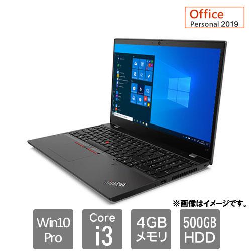 レノボ・ジャパン 20U3S03D00 [ThinkPad L15 (Core i3 4GB HDD500GB Win10P Personal2019 15.6HD)]
