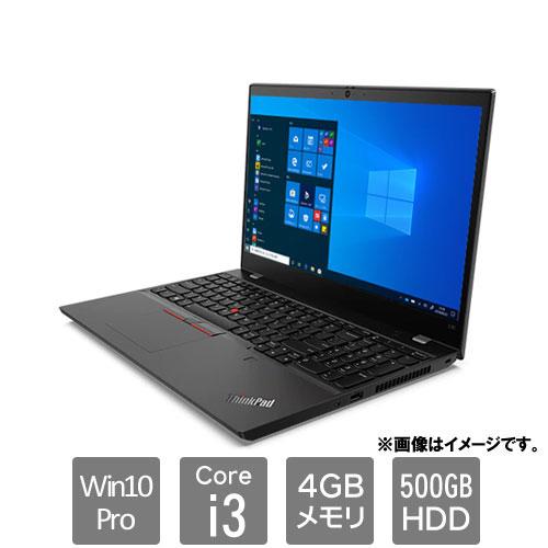 レノボ・ジャパン 20U3S03A00 [ThinkPad L15 (Core i3 4GB HDD500GB Win10P 15.6HD)]