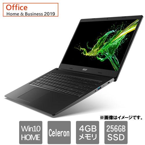 エイサー Aspire 3 [A315-34-A14U/KF (Celeron 4GB SSD256GB 15.6FHD Win10H H&B2019 ブラック)]