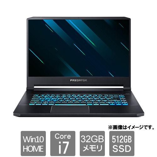エイサー Predator Triton 500 [PT515-52-A73Y8 (Core i7 32GB SSD512GB 15.6FHD Win10H ブラック)]