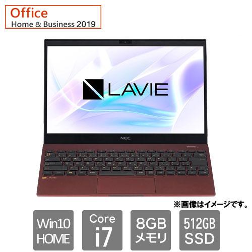 NEC PC-PM750SAR [LAVIE Pro Mobile PM750 SAR (Core i7 8GB SSD512 13.3 Win10H H&B2019 クラシックボルドー)]