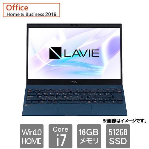 NEC PC-PM950SAL [LAVIE Pro Mobile PM950 SAL (Core i7 16GB SSD512GB 13.3 Win10H H&B2019 ネイビーブルー)]