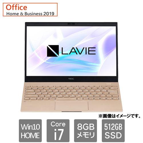NEC PC-PM750SAG [LAVIE Pro Mobile PM750 SAG (Core i7 8GB SSD512GB 13.3 Win10H H&B2019 フレアゴールド)]