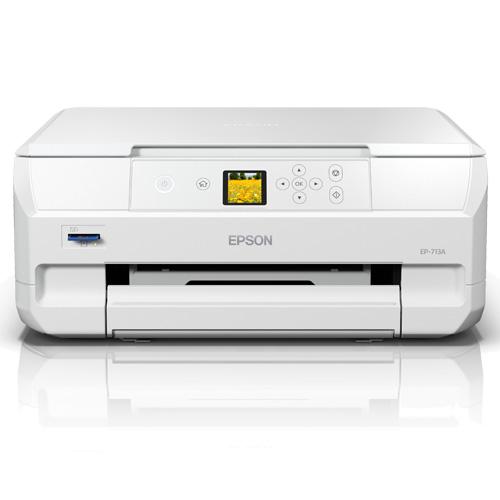 エプソン EP-713A [A4カラーインクジェット複合機/Colorio/6色/無線LAN/Wi-Fi Direct/1.44型液晶]