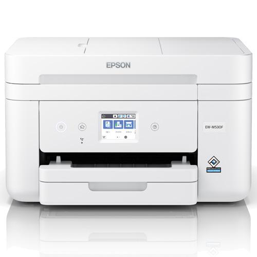 エプソン EW-M530F [A4カラーインクジェット複合機/有線・無線LAN/Wi-Fi Direct/両面/2.4型タッチパネル]