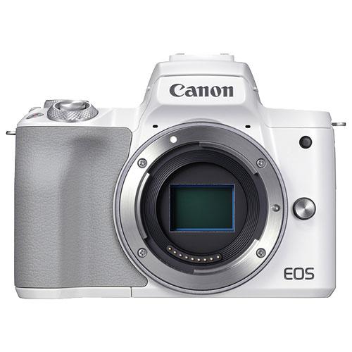 ミラーレスカメラ EOS Kiss M2 ホワイト