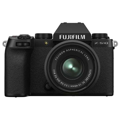 富士フイルム FUJIFILM F X-S10LK-1545 [ミラーレスデジタルカメラ X-S10 XC15-45mmレンズキット]