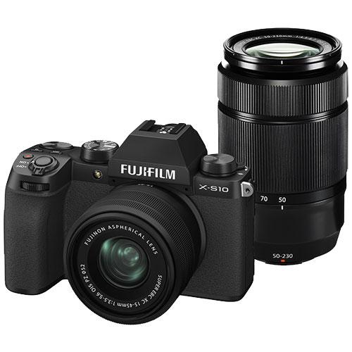 富士フイルム FUJIFILM F X-S10LK-1545/50230 [ミラーレスデジタルカメラ X-S10 ダブルズームレンズキット]