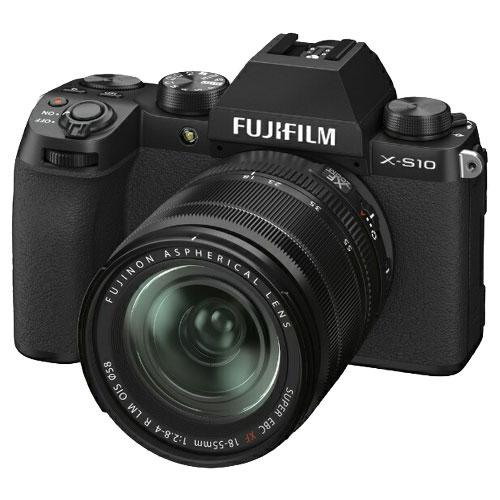 富士フイルム FUJIFILM F X-S10LK-1855 [ミラーレスデジタルカメラ X-S10 XF18-55mmレンズキット]