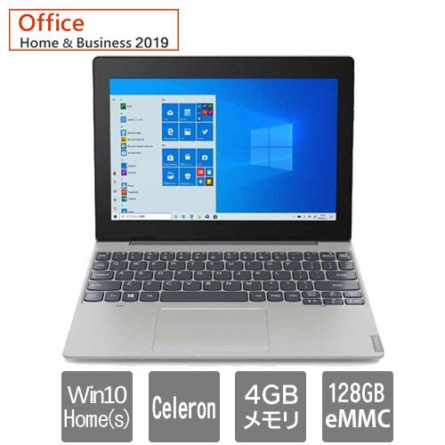 レノボ・ジャパン 82H0000BJP [Lenovo IdeaPad D330 (Celeron 4GB eMMC128GB 10.1 W10Hs H&B GR)]