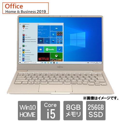 FMVC75E3G [LIFEBOOK CH75/E3 (Core i5 8GB SSD256GB Win10Home64 13.3 H&B2019 ベージュゴールド)]