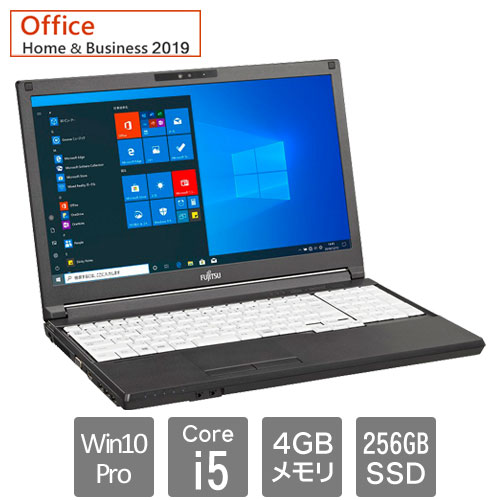 富士通 バリュー LIFEBOOK FMVA84046P [LIFEBOOK A5510/EX (Core i5 4GB SSD256GB Win10Pro64 15.6HD H&B2019 SM)]