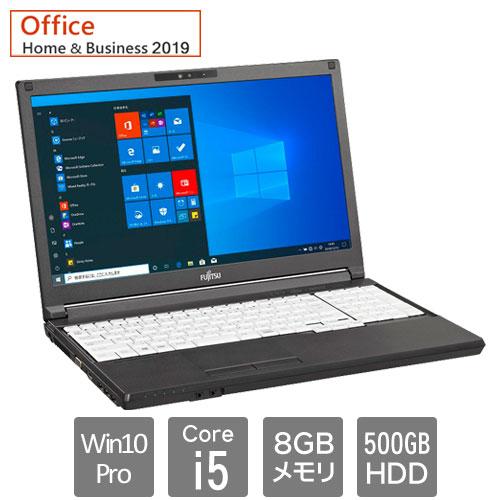 富士通 バリュー LIFEBOOK FMVA84049P [LIFEBOOK A5510/EX (Core i5 8GB HDD500GB Win10Pro64 15.6HD H&B2019 SM)]