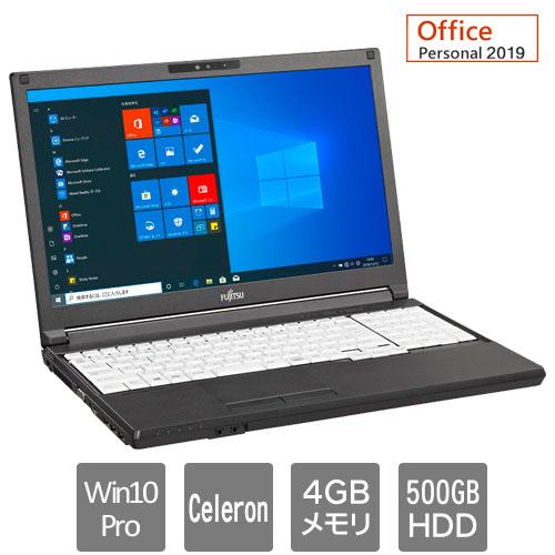 富士通 バリュー LIFEBOOK FMVA84051P [LIFEBOOK A5510/EX(Celeron 4GB HDD500GB Win10Pro SM 15.6 Personal2019)]