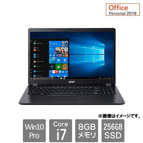 エイサー Extensa [EX215-52-A78UL9 (Core i7-1065G7 8GB SSD256GB 15.6FHD Win10roP64 Personal2019 ブラック)]