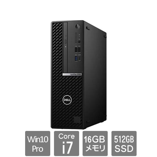 Dell DTOP073-G31N3 [OptiPlex5080SFF(10P/16/i7/512/RW/3Y)]