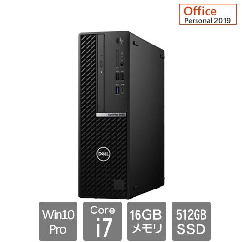 Dell DTOP073-G31P93 [OptiPlex5080SFF(10P/16/i7/512/RW/3Y/PE)]