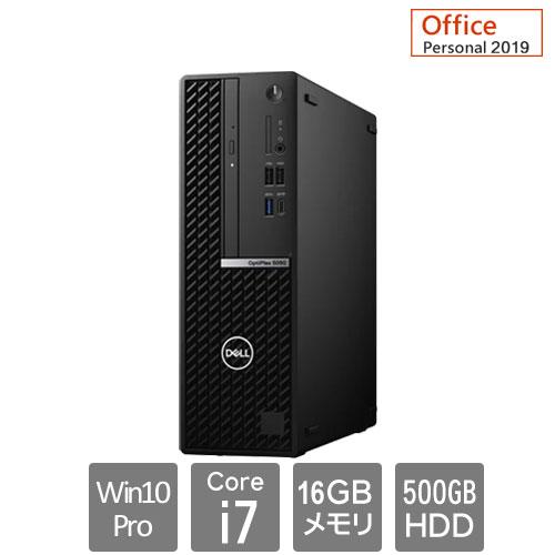 Dell DTOP073-D61P95 [OptiPlex5080SFF(10P/16/i7/500/RW/5Y/PE)]