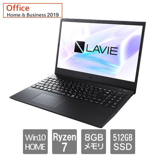 NEC ★台数限定★PC-SN20N2LDH-D [LAVIE Smart N15R (Ryzen7 8GB SSD512GB 15.6FHD W10H64 H&B2019)]