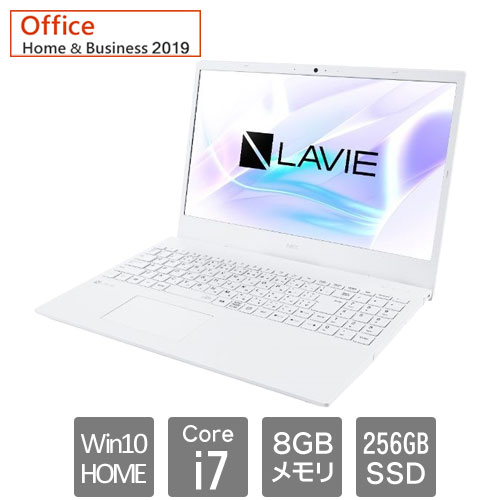 NEC PC-SN186RLDH-D [LAVIE Smart N15 (Core i7 8GB SSD256GB 15.6FHD Win10Home64 H&B2019)]