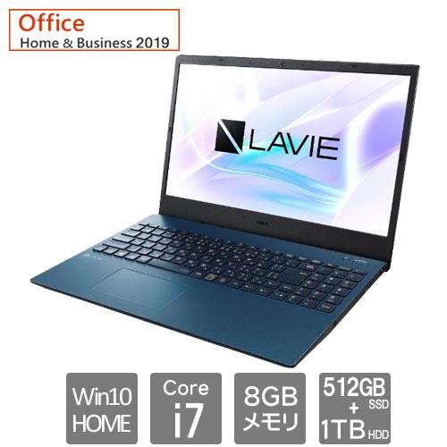 NEC PC-SN186ULDH-F [LAVIE Smart N15 (Core i7 8GB SSD512GB+HDD1TB 15.6FHD Win10Home64 H&B2019)]
