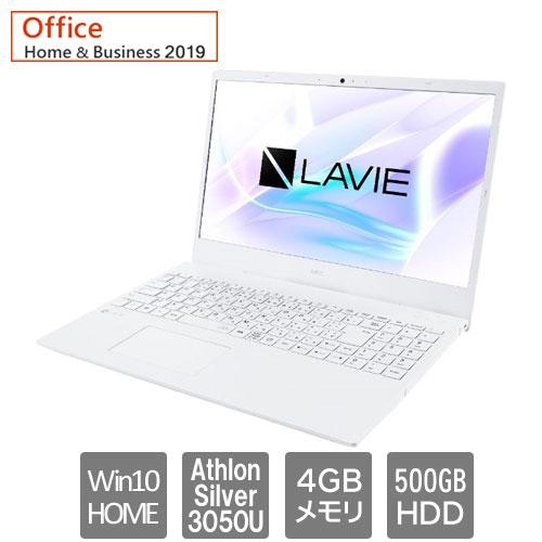NEC PC-SN23YPNDH-D [LAVIE Smart N15A (Athlon Silver 3050U 4GB HDD500GB 15.6 Win10Home64 H&B2019)]