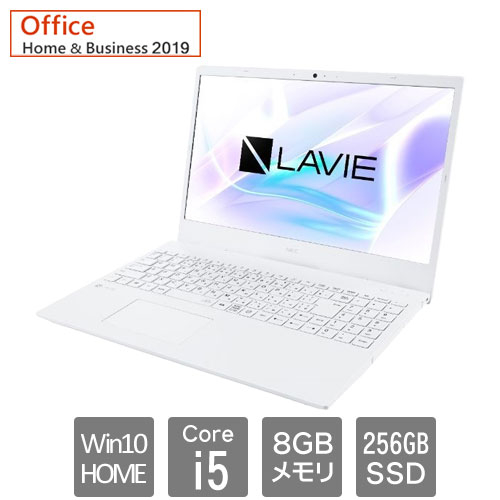 PC-SN164RLDH-D [LAVIE Smart N15 (Core i5 8GB SSD256GB 15.6FHD Win10Home64 H&B2019)]