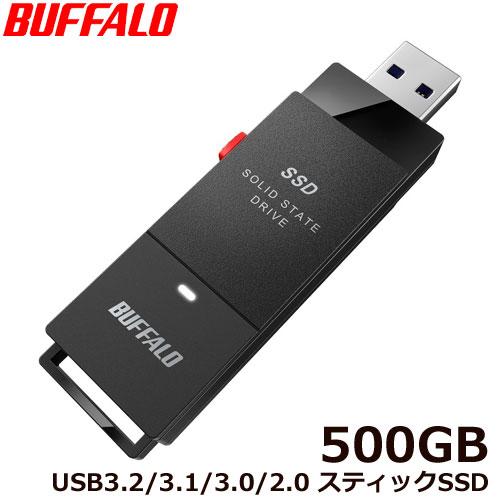 バッファロー SSD-PUT500U3-BKA