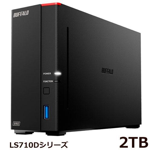 LS710D0201 [リンクステーション LS710D NAS 1ベイ 2TB]