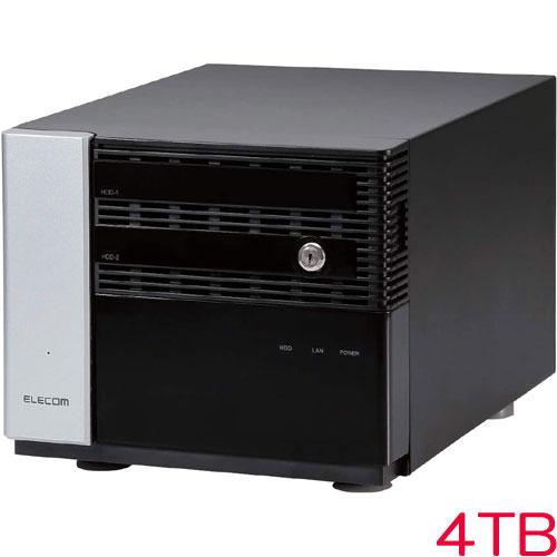 エレコム KTB-7MS4T2CS6 [キッティング/設定/WSS2016 Std NAS/2Bay/4TB]