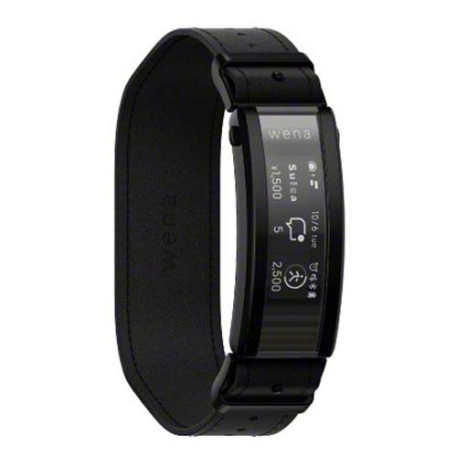 ソニー(SONY) WNW-C21A/B [スマートウォッチ wena 3 leather Premium Black]