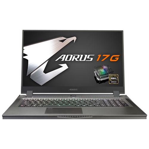 ギガバイト AORUS 17G KB-8JP2130MH [i7-10875H/16GB/512GB SSD/17.3型 FHD 240Hz/RTX 2060/11ax/Win10 Home]