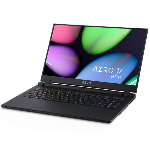 ギガバイト AERO 17 HDR YB-9JP4750SP [i9-10980HK/64GB/1TB SSD/17.3型 4K IPS/RTX 2080 SUPER/11ax/Win10 Pro]