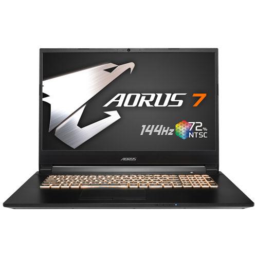 ギガバイト AORUS 7 SA-7JP1130SH [i7-9750H/16GB/512GB SSD/17.3型 FHD IPS 144Hz/GTX 1660Ti/11ac/Win10 Home]
