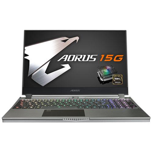 ギガバイト AORUS 15G YB-8JP2130MP [i7-10875H/16GB/512GB SSD/15.6型 FHD IGZO 240Hz/RTX 2080 SUPER/11ax/Win10Pro]