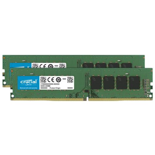 クルーシャル CT2K8G4DFS632A [16GB Kit (8GBx2) DDR4 3200 MT/s (PC4-25600) CL22 SR x16 Unbuffered DIMM 288pin]