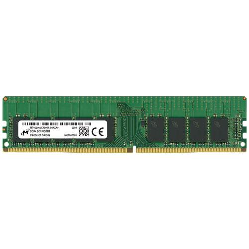 Micron MTA18ASF4G72AZ-3G2B1 [32GB DDR4-3200 (PC4-25600) ECC U-DIMM 2R x8 CL22 1.2V 288pin]