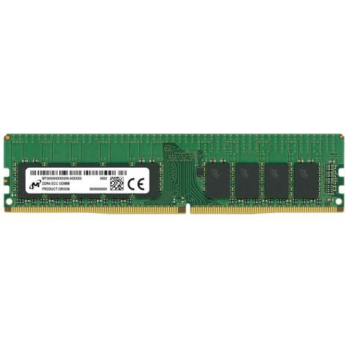 Micron MTA9ASF2G72AZ-3G2B1 [16GB DDR4-3200 (PC4-25600) ECC U-DIMM 1R x8 CL22 1.2V 288pin]